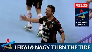 Unstoppable Lekai and Nagy   VELUX EHF Champions League