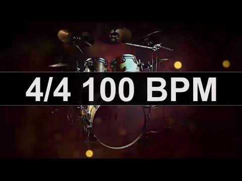 Drums Metronome 100 BPM