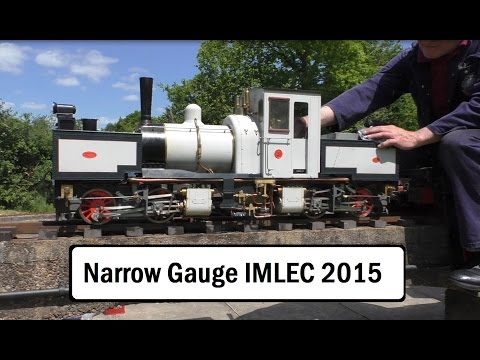 Narrow Gauge Locomotive Efficiency Competition NGLEC 2015 Birmingham Society Model Engineers IMLEC