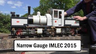 Narrow Gauge Locomotive Efficiency Competition NGLEC 2015 Birmingham Society Model Engineers IMLEC