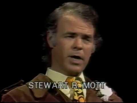 Day at Night:  Stewart Mott, philanthropist