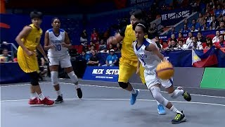 Finals Highlights: Philippines Vs Thailand | 3x3 Basketball W | 2019 Sea Games