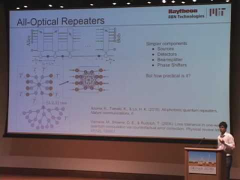 Mihir Pant: Rate-Distance Trade-Off and Resource Costs for All-Optical Quantum Repeaters