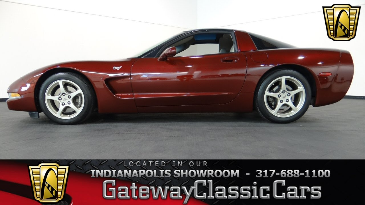 2003 Chevrolet Corvette 50th Anniversary Gateway Clic Cars Indianapolis 378 Ndy