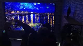 "CES 2018 Samsung ""The Wall"" microLED modular TV"