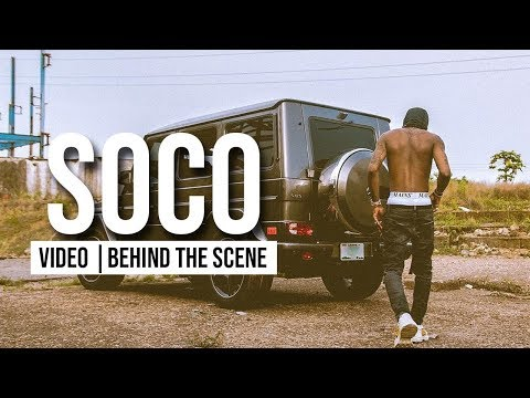 Wizkid SOCO Video Shoot