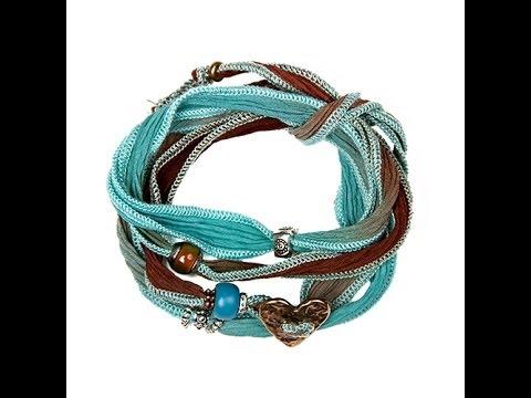 Lifetherapy Silk Wrap Bracelets