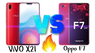 Vivo X 21 vs Oppo F7 full detail comparison overview and specificat...