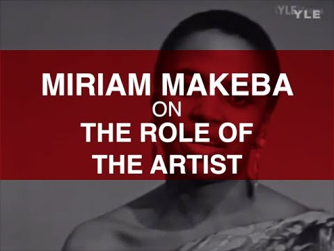 MAKEBA   THE ROLE OF THE ARTIST