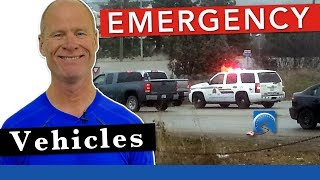 What to Do When an Emergency Vehicle Approaches to Pass a Road Test
