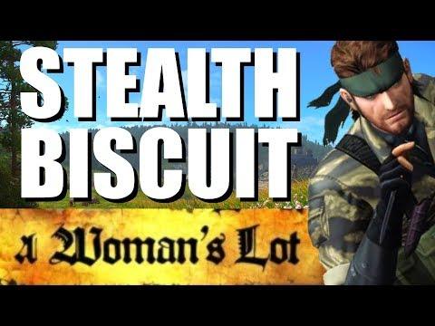 Kingdom Come Deliverance | A Womans Lot DLC | Stealth Biscuit! |