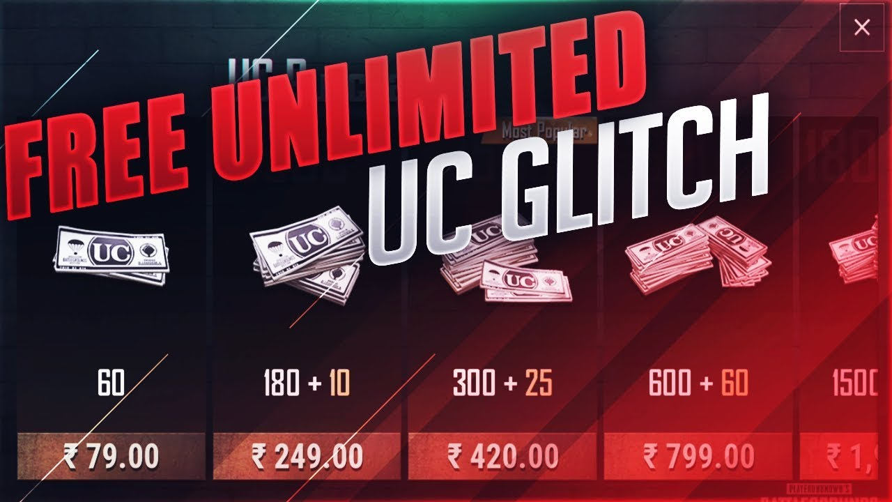 FREE 8100 UC GLITCH ! SERIOUS NOTICE FROM PUBG MOBILE