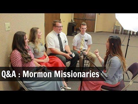 Mormon Missionaries Q&A