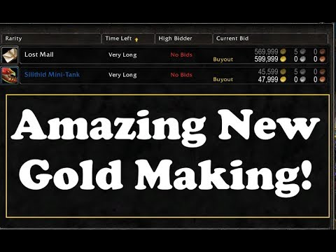 wow legion how to make gold with inscription