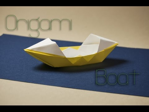 How to make an origami boat | Paper ship