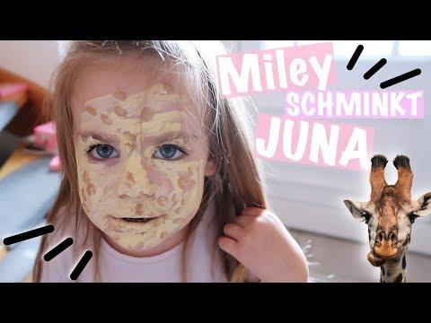 Miley schminkt Juna als Giraffe 🦒😂   #vlog