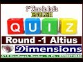 #Dimensions #Coaching #Center  #English #Quiz #Round 1 #Altius