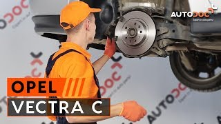 How to change Brake disc set OPEL COMMODORE B - step-by-step video manual