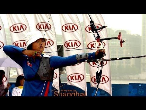 Recurve Women Team Bronze - Stage 1 : SHANGHAI - Archery World Cup 2014