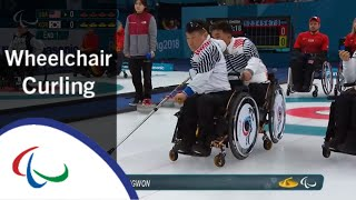USA v Korea | Round Robin | Wheelchair curling | PyeongChang2018 Paralympic Winter Games