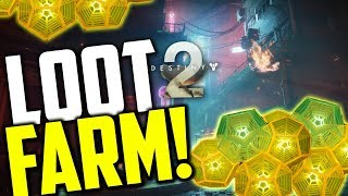 Destiny 2 LOOT CAVE FARM! Legendary Engram Farming Fast!