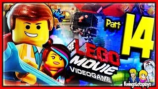 LEGO Movie Videogame Walkthrough Part 14 Master Builder Emmet