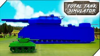 НЕМЕЦКИЙ СУПЕР ТАНК. Американская компания # 4 - Игра Total Tank Simulator Demo 4 прохождение