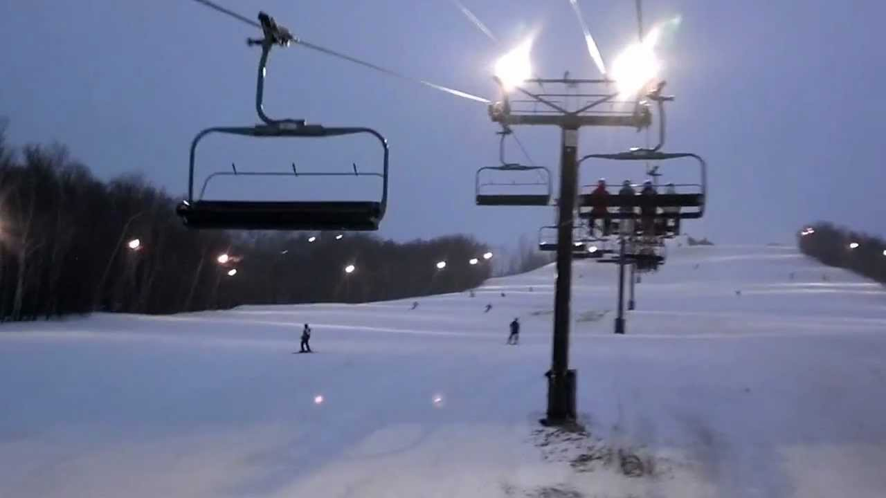Merveilleux On The Chairlift   Blue Mountain 1080p