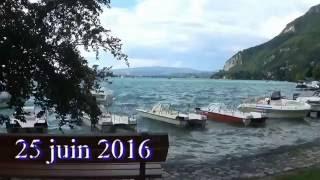 Annecy vieille ville et lac
