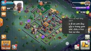 Clash of Clans War - Fam Làm nhiệm vụ và nói chuyện cùng ae