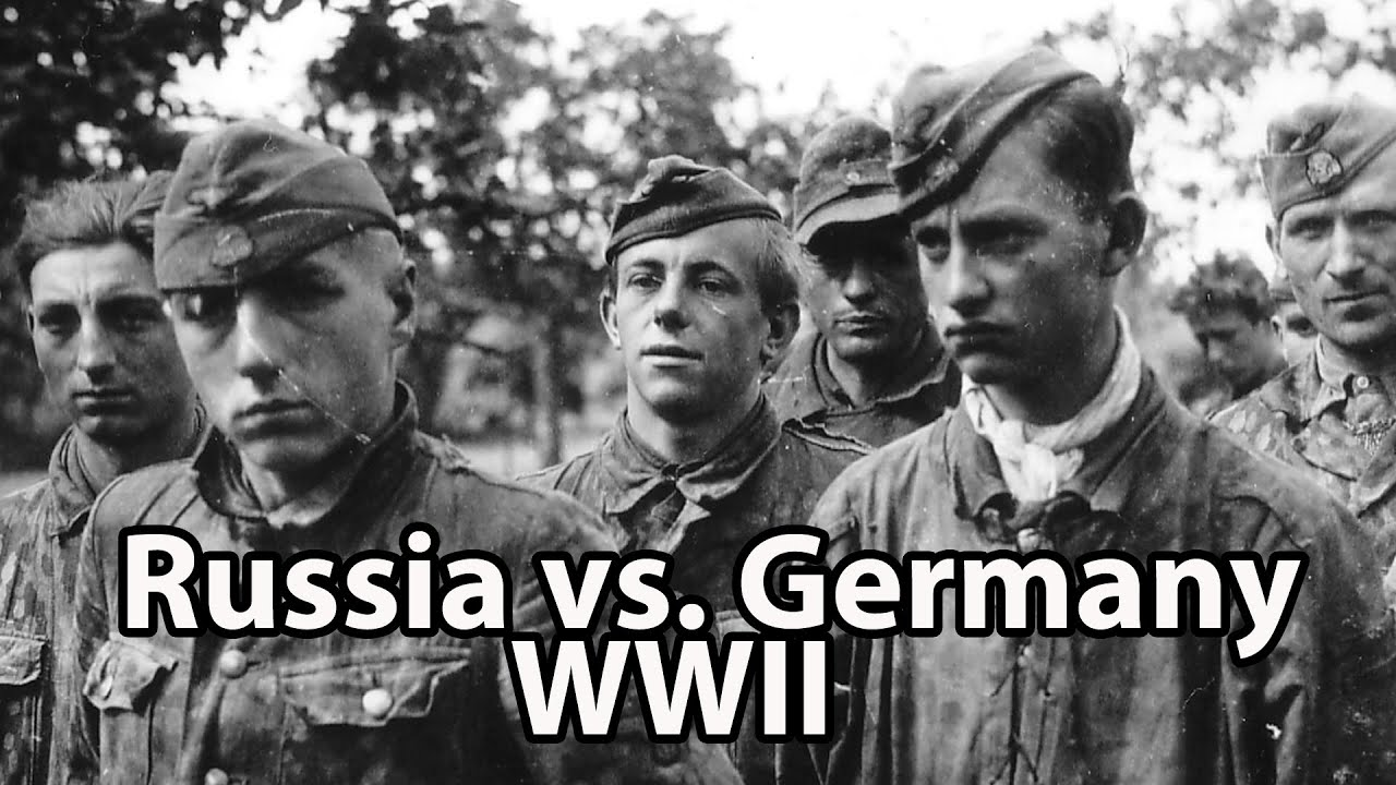 Why did the Russians start winning the war with the Germans