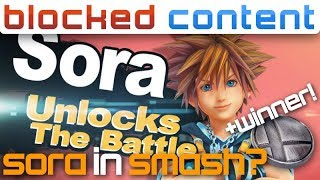 Could SORA from Kingdom Hearts be a NEWCOMER? - Super Smash Bros. Ultimate Leak Speak!