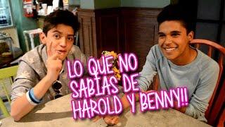 Expo 15 Lo que no sabías de Harold Azuara y Benny Emmanuel
