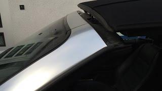 A4 Cabrio Convertible Verdeck Roof Reparatur II