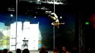 Maria Luz Escalante @ World Pole Dance Championship 2010