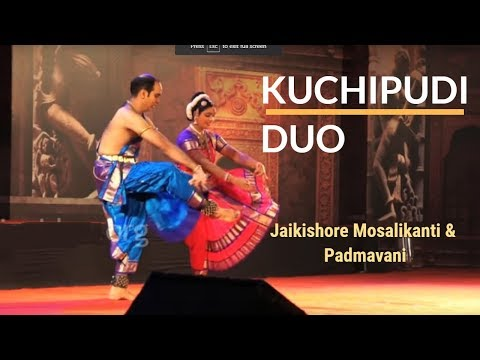 Kuchupudi performance by Jai Kishore Mosalikanti and Padmavani