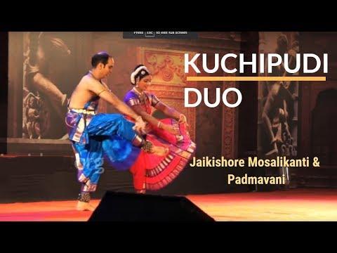 Kuchupudi performance by Jai Kishore Mosalikanti and Padmavani