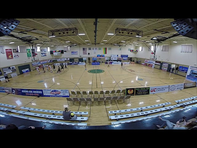 Basketball Senior Semifinals 1 2016 CLKL Lithuanian Basketball League in Chicago