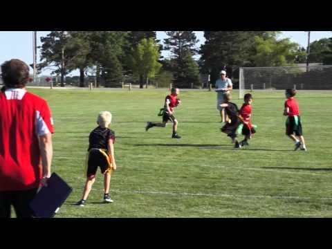 8-year old Kellan reverse run