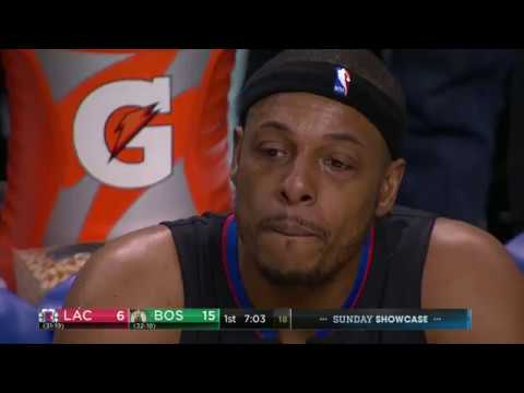 Paul Pierce Emotional Return and Tribute in Boston | 02.05.17