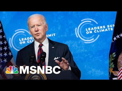 Chris Hayes: The Case For Optimism About Biden's New Climate Goal   All In   MSNBC