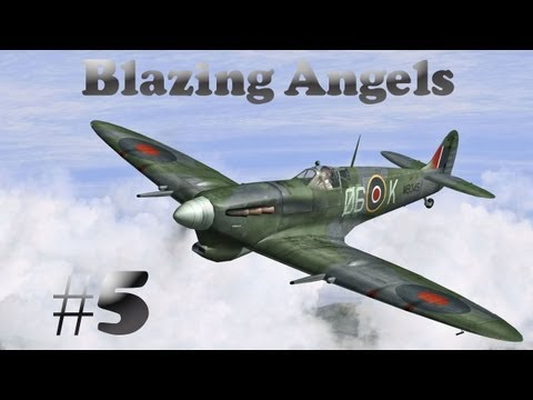 Blazing Angels #5 - Airborne Paparazzi - Wii Gameplay And Commentary