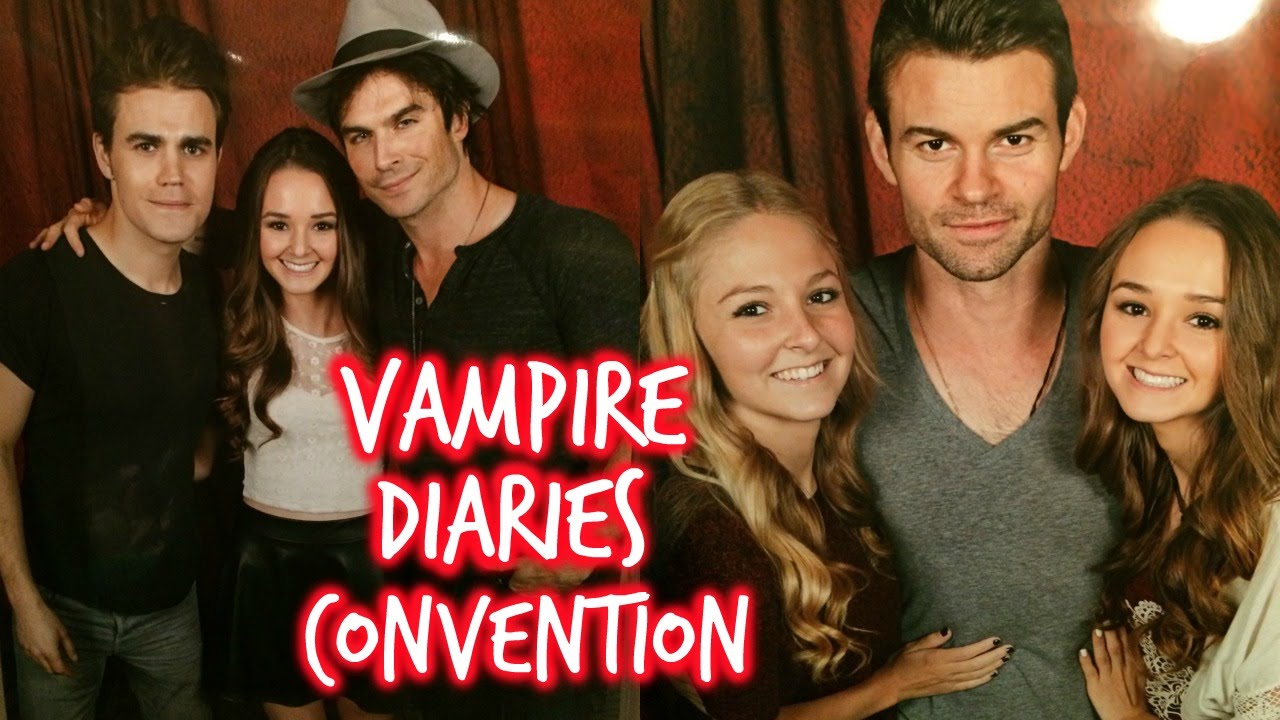 The Vampire Diaries Convention Vlog Thekelliworldtv Youtube