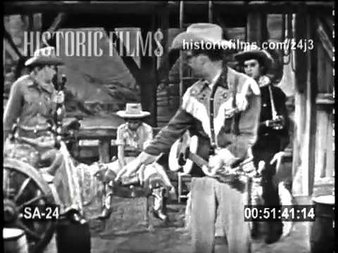 """ELVIS PRESLEY on THE STEVE ALLEN SHOW 1956 """"Range Roundup"""" comedy skit"""