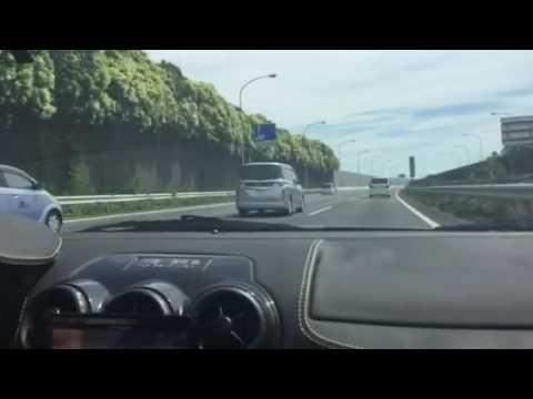 久々にスクーデリア乗ったので高速の加速を撮ってみました。やっぱりスクーデリア速い。