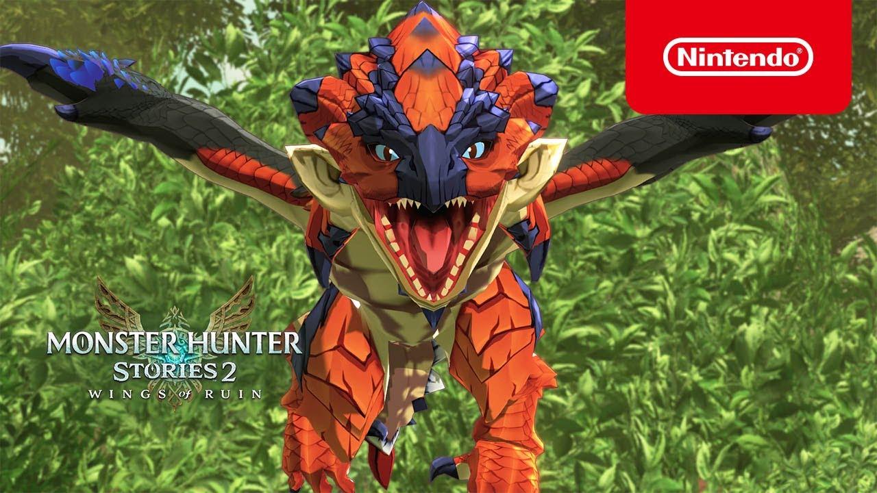 Monster Hunter Stories 2: Wings of Ruin – Tráiler 2 (Nintendo Switch)