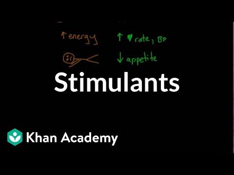 Psychoactive drugs: Stimulants | Processing the Environment | MCAT | Khan Academy