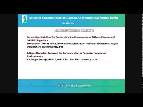 ACIIAdvanced Computing: An International Journal ( ACIJ )