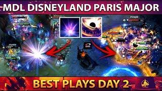 Best Plays MDL Disneyland Paris Major Group Stage Day 2 - Dota 2