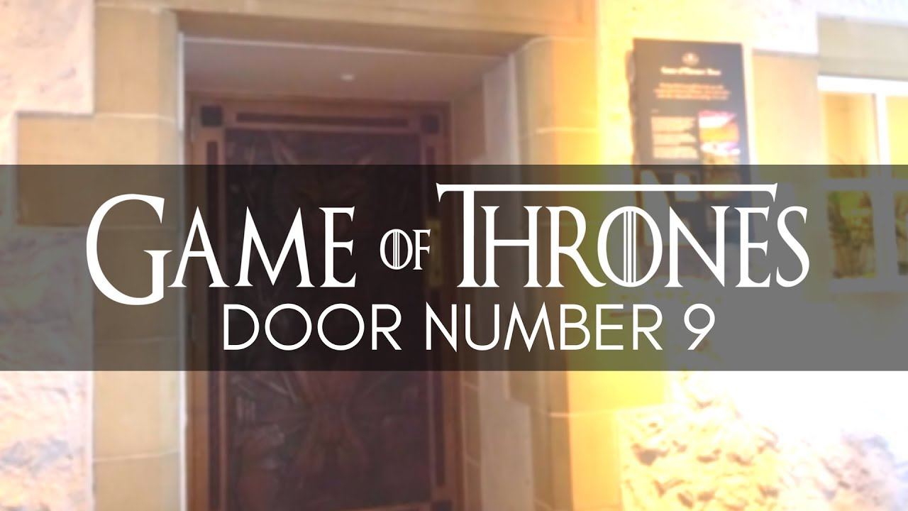 Game Of Thrones Door Ballygally Castle Hotel Got Door 9 Game